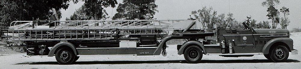 Seagrave Fire Apparatus >> LAFD - 1955 Seagrave 85' Aerial Ladder Truck