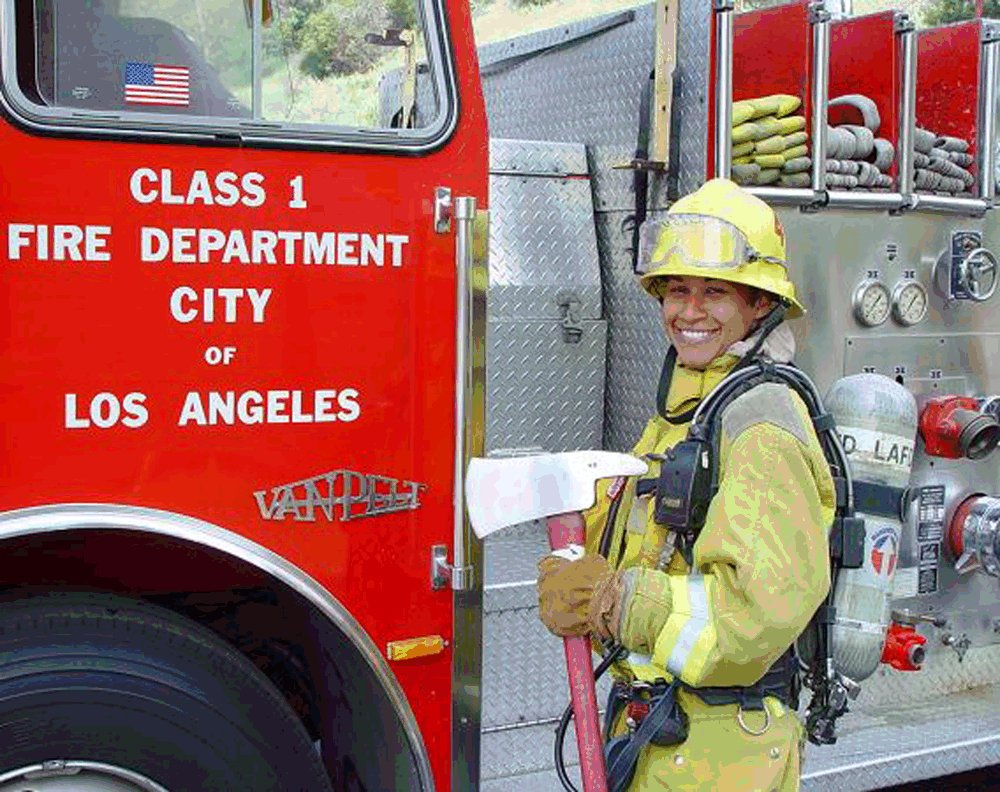 History Of The Black Firemen On The Los Angeles Fire: Firefighter Jaime Foster, Los Angeles Fire Department