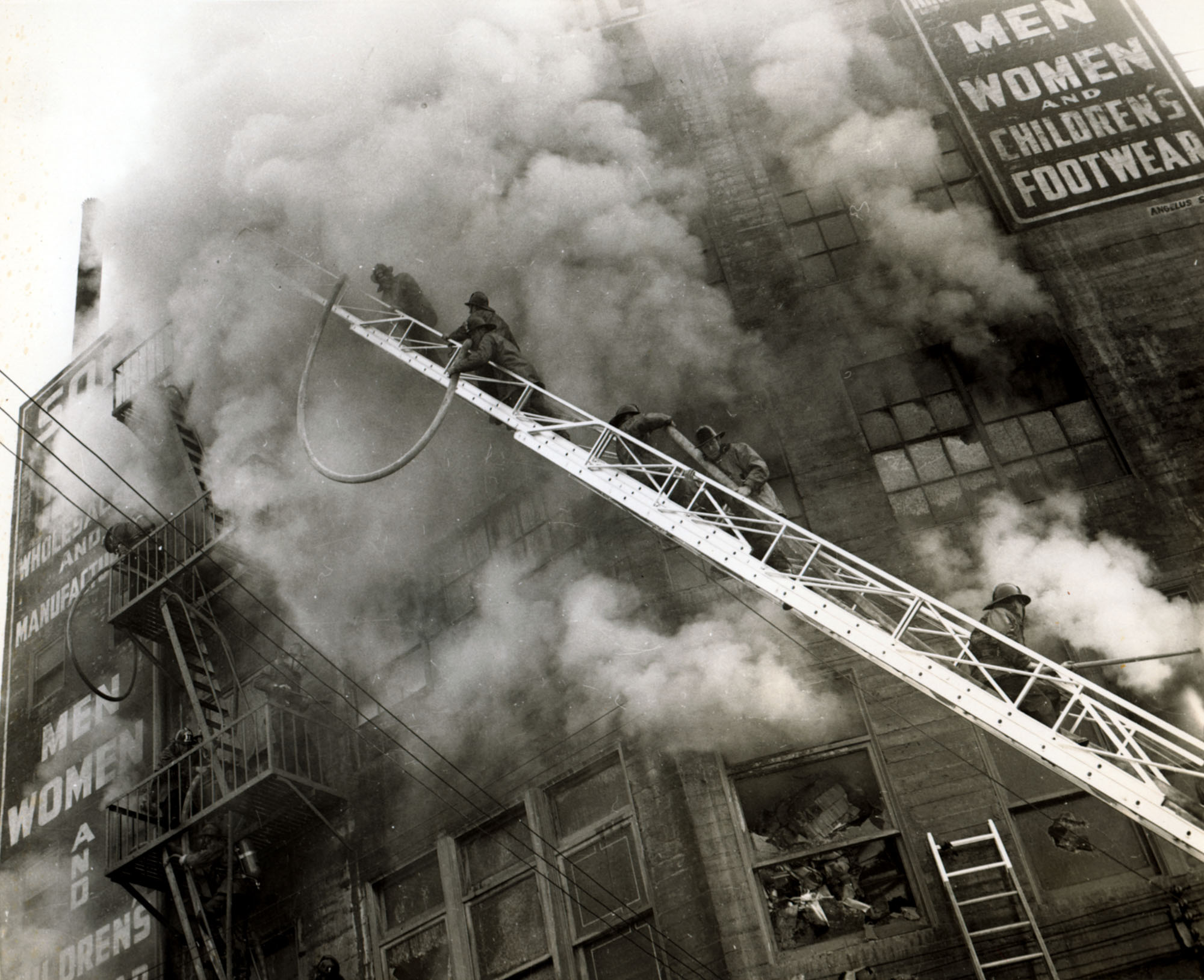 Lafd In Action January 22 1958