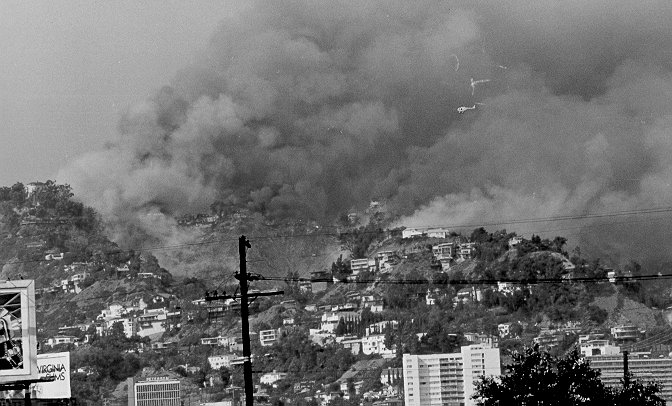 History Of The Black Firemen On The Los Angeles Fire: Kirkwood Bowl/Laurel Canyon Fire, September 16, 1979